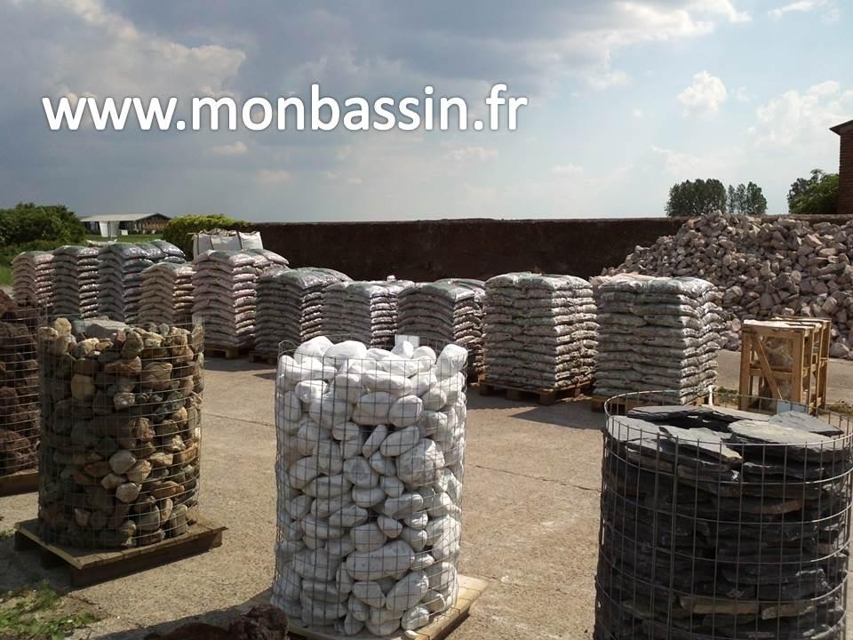 Livraison de pierres pour bassin de jardin & rocaille partout en ...