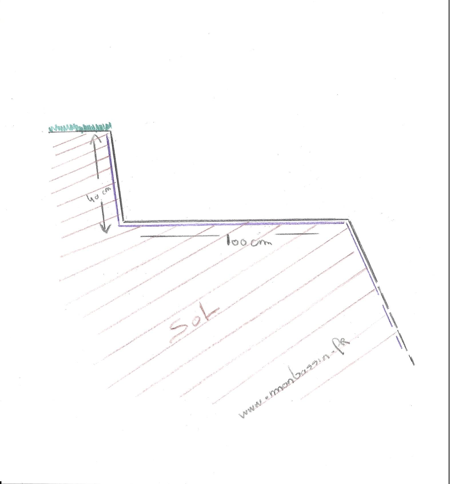 terrassement forme du lagunage