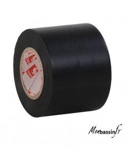 Ruban PVC noir 20m x 5cm