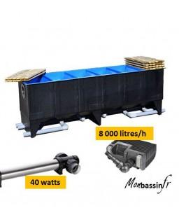 kit filtration pack 30 000 litres