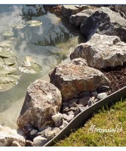 rochers pierres bassin