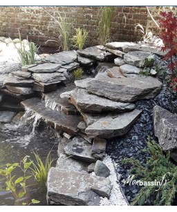 pierres plates cascades