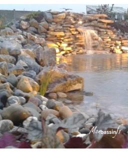 Gros galets bassin - Rhin
