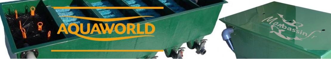 Aquaworld - Multi-chamber filtration - Koi carps