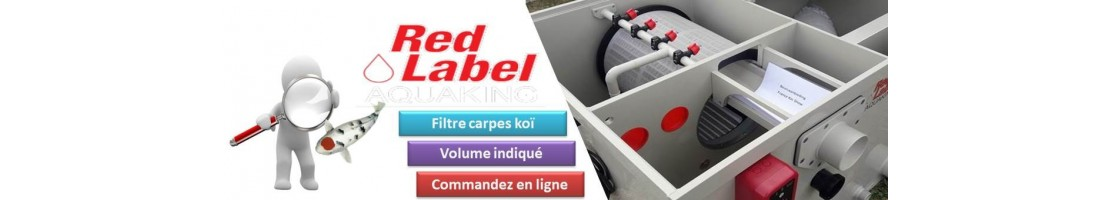 Red Label - Moving bead basin filter