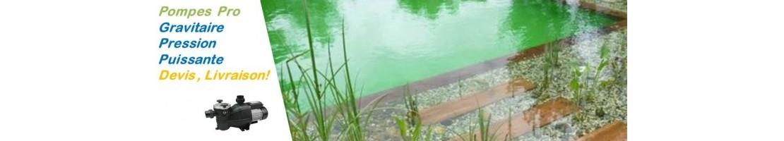 Pompe bassin - piscine bio