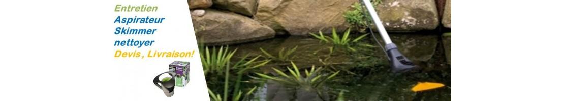 Aspirateur-skimmer bassin