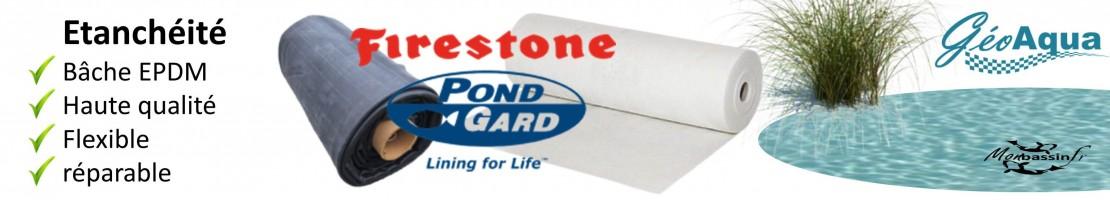 EPDM Firestone - respect de la vie aquatique