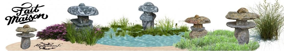Stone cages - gabion