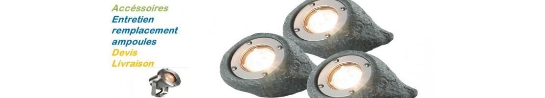 Ampoules rechange spots - extérieur