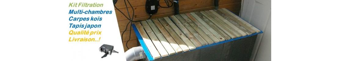Kit filtration carpes koïs - multi-chambres