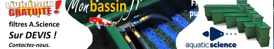 Filtration aquatic sciences - LIVRAISON GRATUITE !